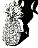 Inktober Pineapple 2015